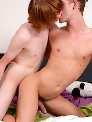 Uniforms: Jaxon Radoc enjoys a smoking hot fuck from a hot little red-head!