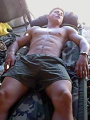 Amateur gay guys posing at home